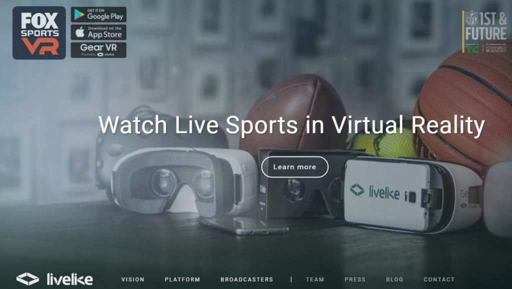 Live Like VR - Best Virtual Reality Websites
