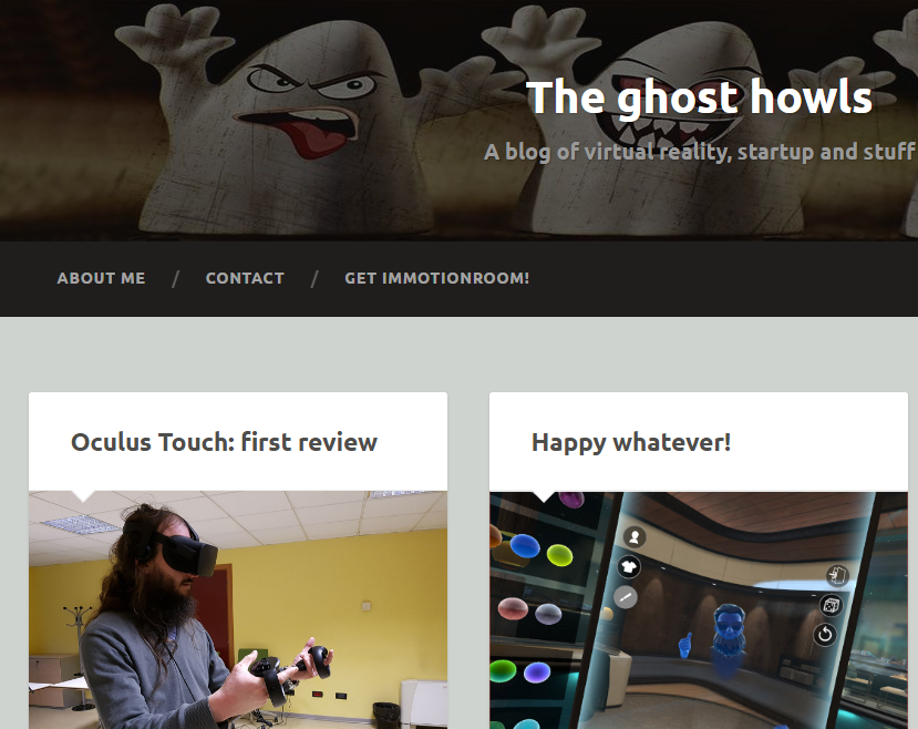 The Ghost Howls - Best Virtual Reality Websites