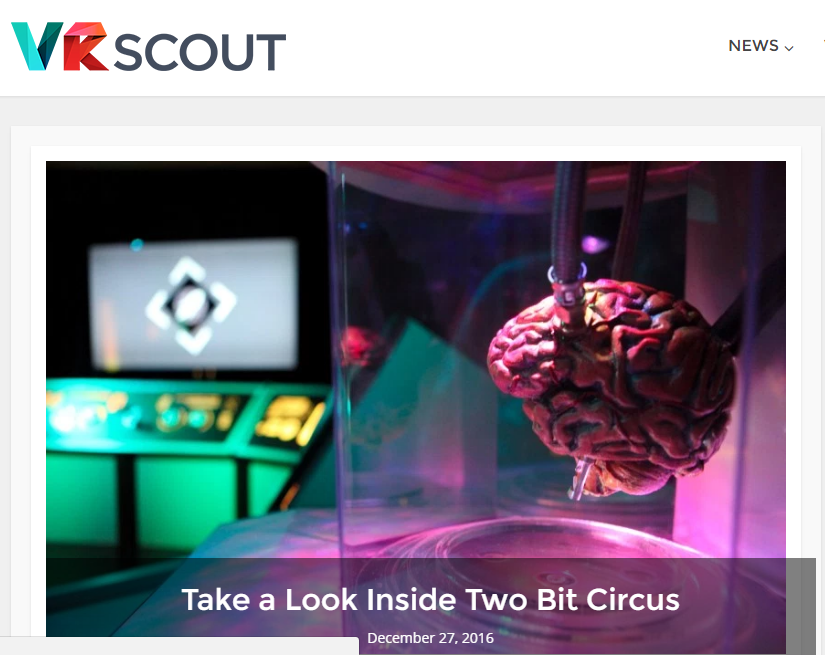 VR Scout - Best Virtual Reality Websites