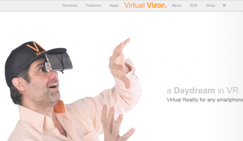 Virtual Vizor - Best Virtual Reality Websites